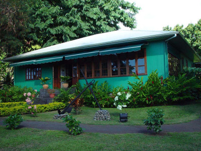 Maison de james norman hall tahiti - Maison a tahiti ...