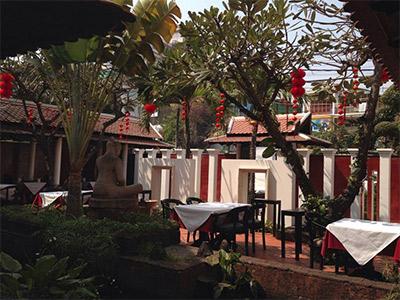 restaurant le Malis à Phnom Penh
