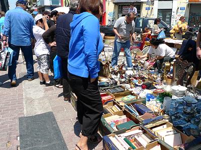 Marché aux puces de Monastiraki (JimsBack / Flickr)