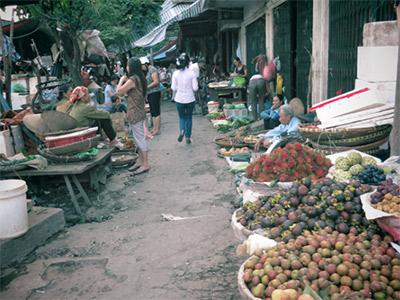 Le Marché de An Dong à Saigon