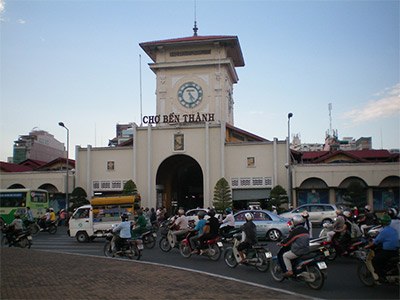 Le marché de Bén Thàng