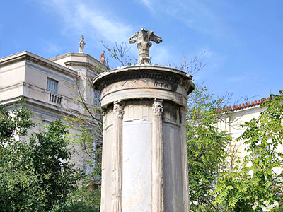 Monument de Lysicrate (Andreas Trepte / Wikimedia Commons)