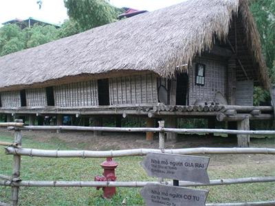 Le Musée de l'ethnographie à Hanoi