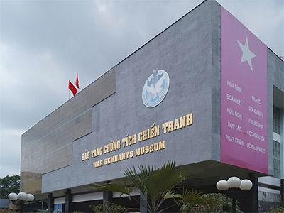 Le Musée de la guerre à Saigon (auteur : Prenn)