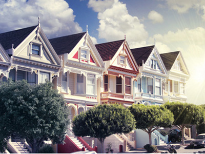 Painted Ladies de San Francisco