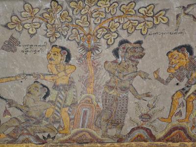 Fresque du Palais de justice de Klungkung - Nautil