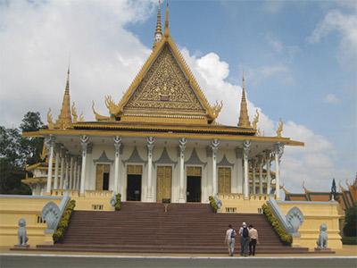 Le Palais Royal à Phnom Penh