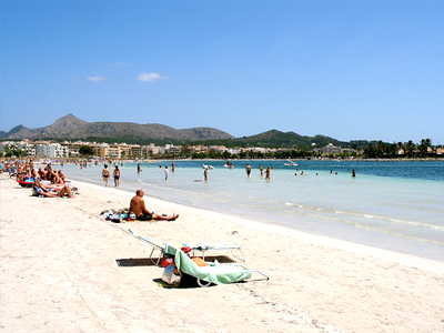 Plage d'Alcudia (Anders Fagerjord / Flickr)