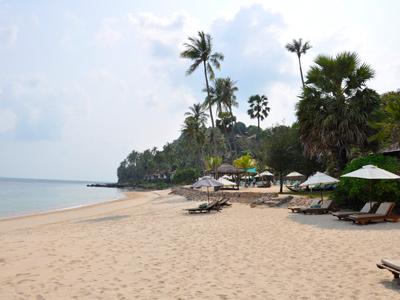 Plage de Maenam à Koh Samui