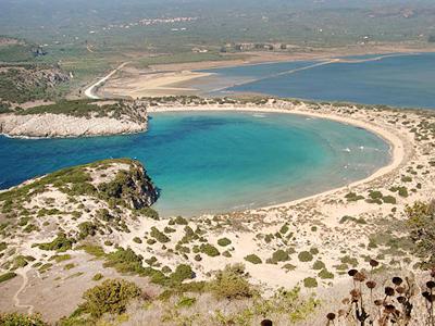 Plage de Voidokilia (Fæ / Wikimedia Commons)