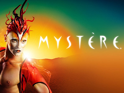 Spectacle Mystère du Cirque du Soleil