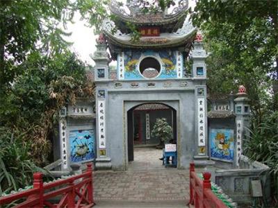 Le Temple de Ngoc Son à Hanoi