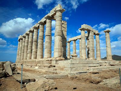 Temple de Poséidon (psyberartist / Flickr)