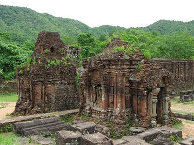 Temples Cham de My Son au Vietnam