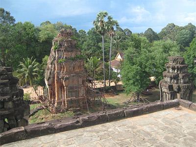 Temple de Roluos à Siem Reap