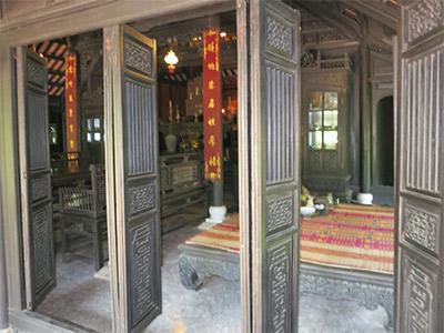 Le restaurant Tha Om à Hué