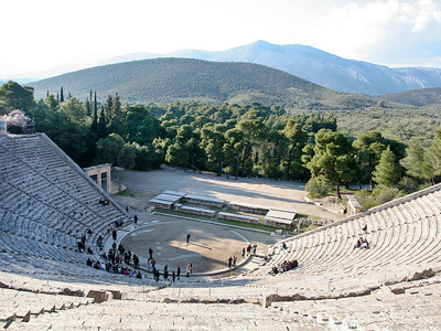 Théâtre d'Epidaure (Sharon Mollerus / Flickr)