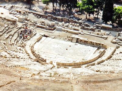 Théâtre de Dionysos (Alun Salt / Flickr)