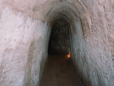 Tunnels de Cu Chi (auteur : Kevyn Jacobs)