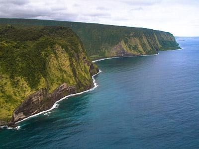 Vallée de Waipi'o à Big Island