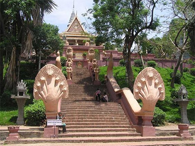 Wat Phnom à Phnom Penh