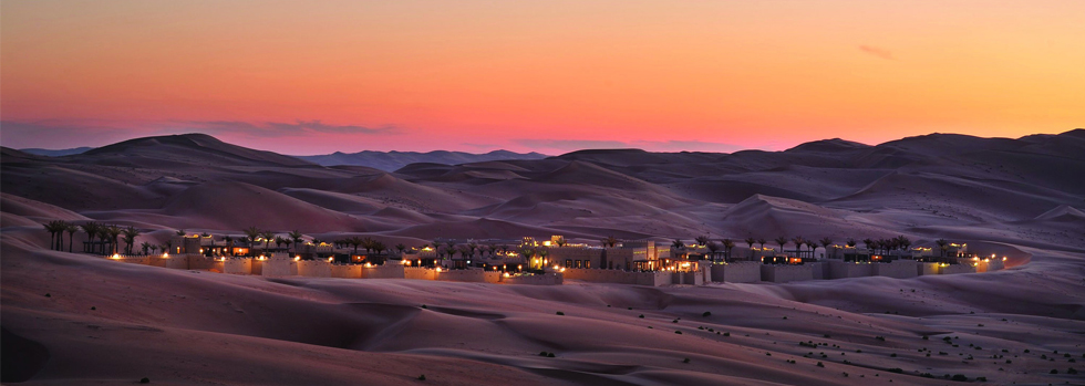 Séjour à l' Anantara Qasr Al Sarab Resort and Spa à  Abu Dhabi