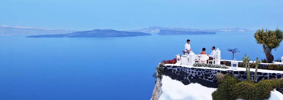 Andronis Luxury Suites, un hôtel d'exception à Santorin