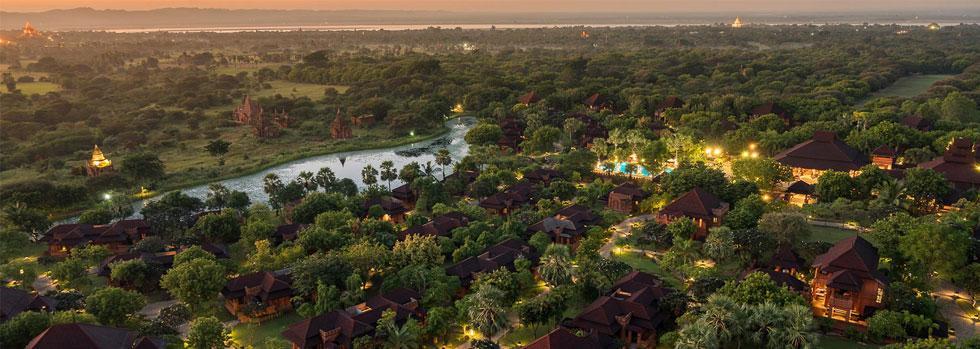Hôtel de luxe à Bagan : Aureum Palace Bagan