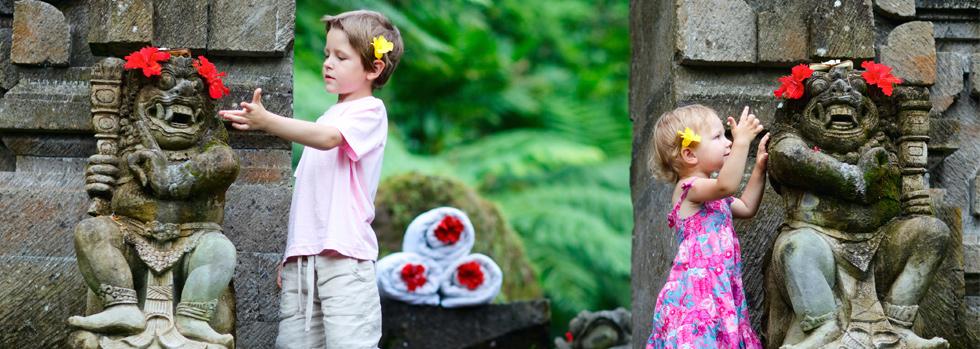 Voyager à Bali avec ses enfants