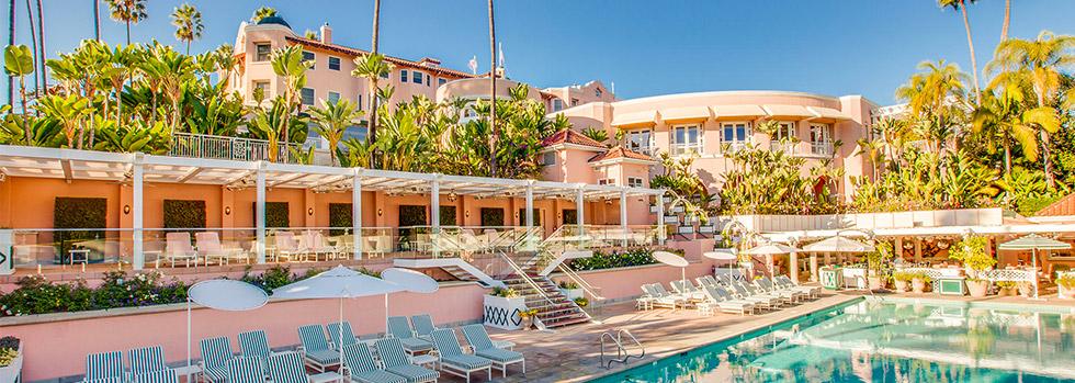 L'hôtel le Beverly Hills situé à Beverly Hills USA