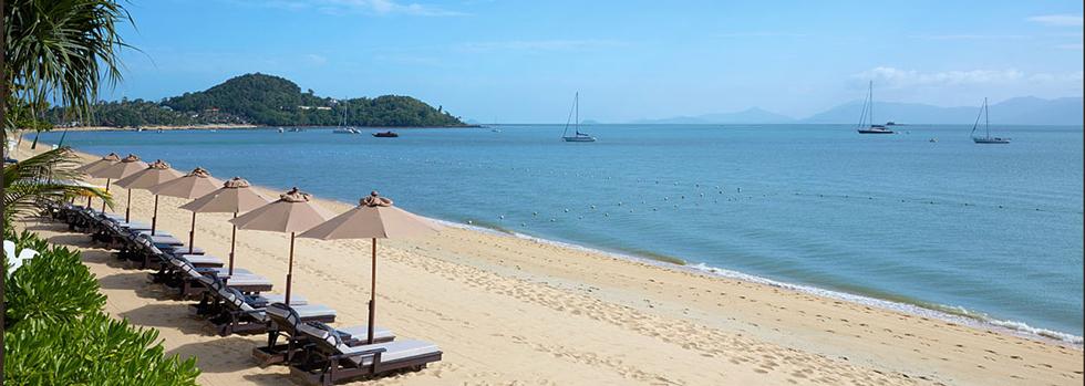 Bo Phut Resort, la plage