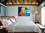 Un exemple de chambre que propose l'hôtel Coco Bodu Hithi