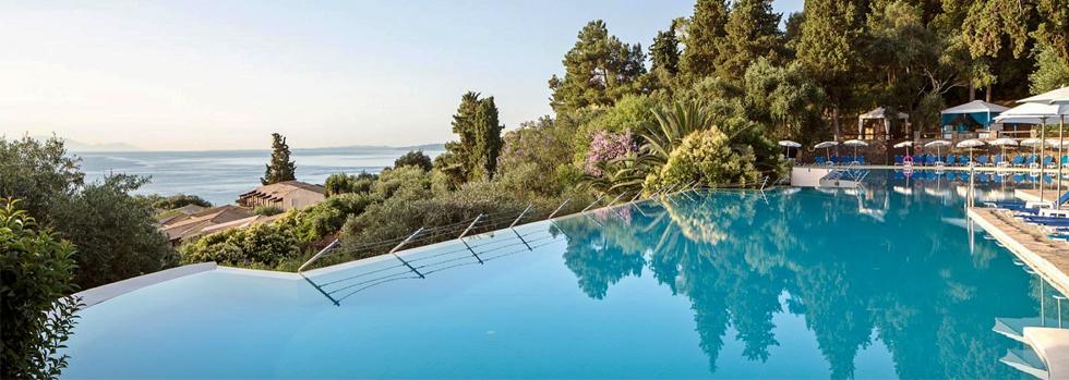 Club Jumbo Aelos Beach sur l'île de Corfou en Grèce