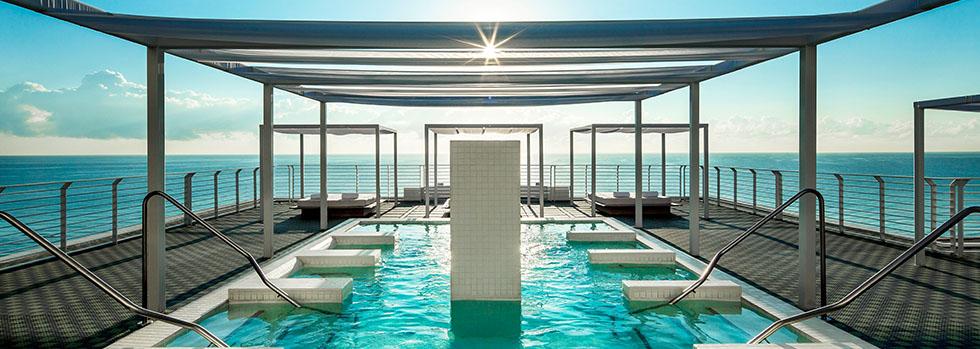 Hôtel de luxe à Miami : Como Metropolitan Miami Beach