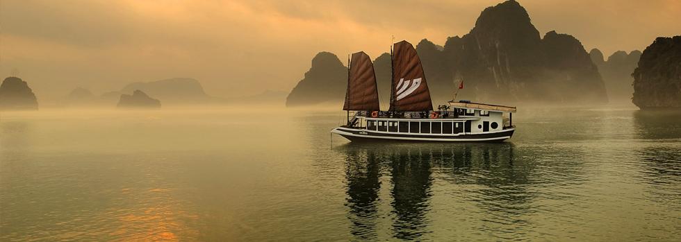 Croisière à bord du Legend Halong