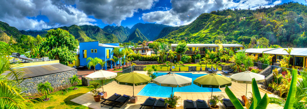 Hôtel à l'île de la Réunion : Dimitile Hotel