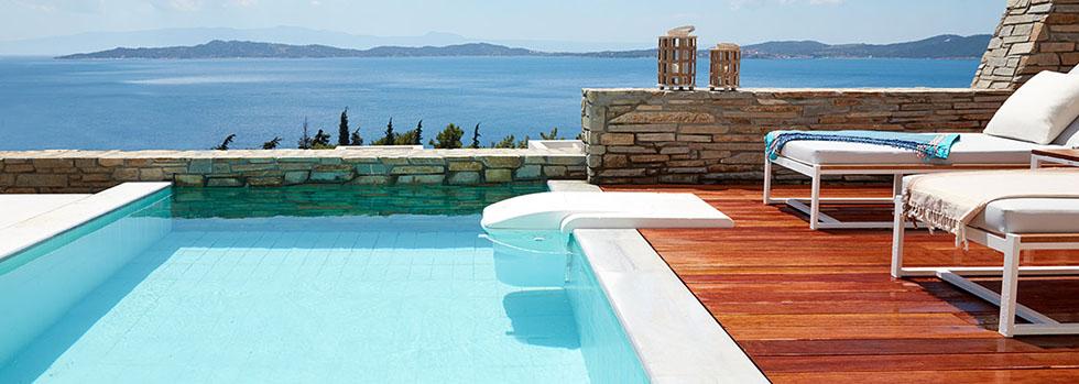 Eagles Villas situé en Grèce