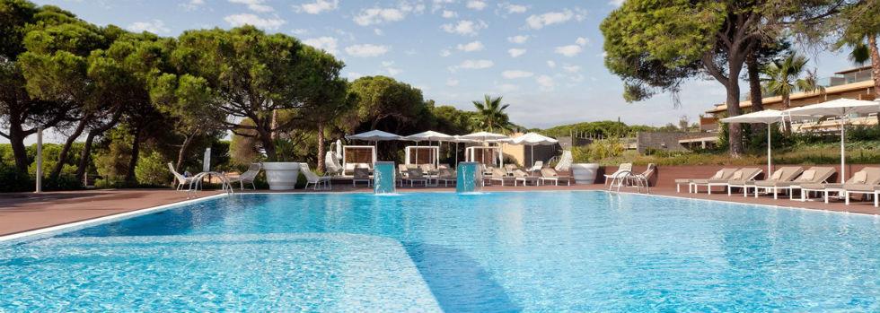La piscine de l'EPIC SANA Algarve