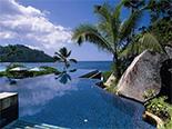 Piscine du Banyan Tree Seychelles