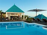 Piscine du Blue Margouillat Seaview Hôtel