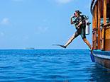Plongée dans l'atoll d'Haa Alifu