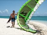 L'activité kite surf que propose le Lux Le Morne
