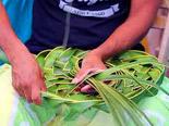 Tissage de bambous
