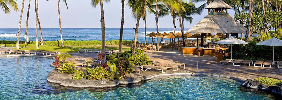Hôtel de luxe à Hawaï : Fairmont Orchid
