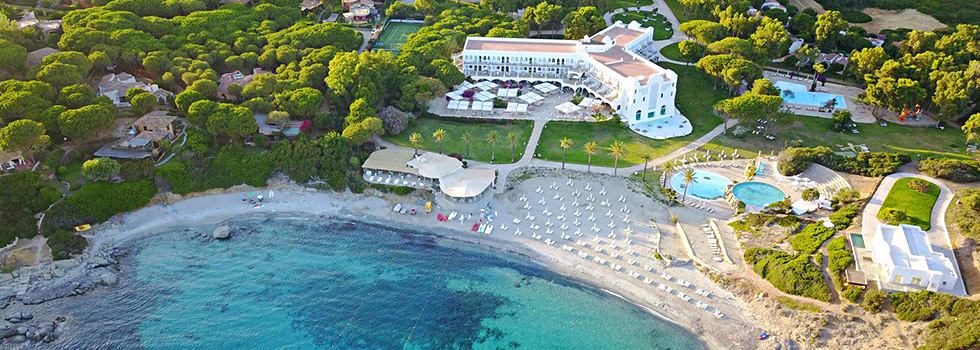Le Falkensteiner Resort Capo Boi en Sardaigne
