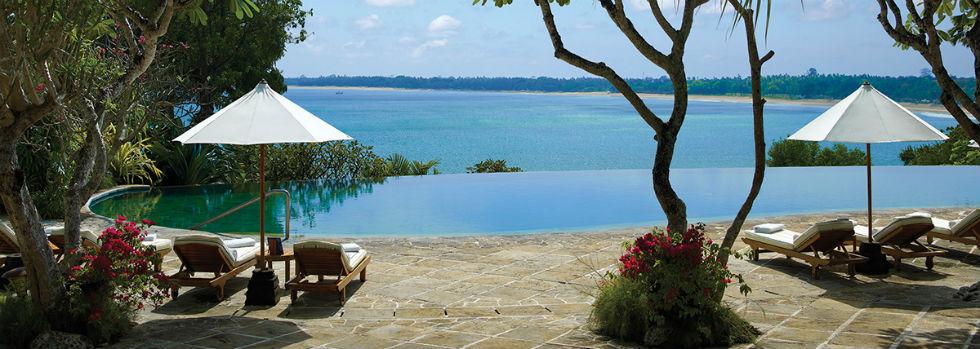 Four Seasons Resort Bali at Jimbaran Bay, idéal pour des vacances luxe à Bali