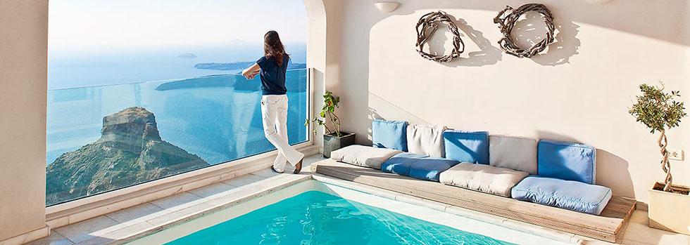 Gold Suites à Santorin