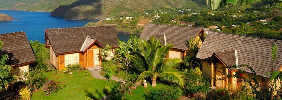 Hôtel aux Marquises : Hanakee Pearl Lodge Hiva Oa