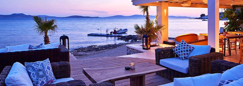 L'hôtel Hippie Chic à Mykonos