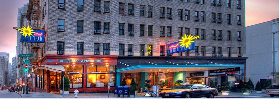 L'hôtel Triton à San Francisco